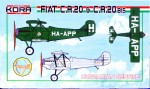 1-72-Fiat-C-R-20-and-C-R-20-bis-Hungarian-Service