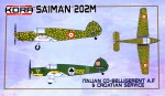 1-72-Saiman-202M-Italian-Co-Bellig-AF-and-Croatia-S-