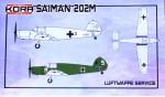 1-72-Saiman-202M-Luftwaffe-Service