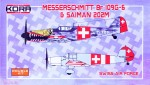 1-72-Bf-109G-6-and-Saiman-202M-SWISS-Air-Force-2-in-1
