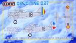 1-72-Dewoitine-D-27-Romanian-and-Yugoslavian-Service