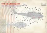 1-32-UH-1-Air-Ambulance-in-Vietnam-War-Technical-Stencils