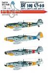 1-72-Messerschmitt-Bf-109-G-6s-JG-1-JG-11-JG-54