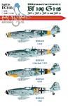 1-72-Messerscmitt-Bf-109-G-14s-JG-3-JG-5-JG-52