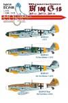 1-72-Messerschmitt-Bf-109-G-4s-JG-27-JG-52-JG-53
