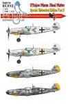 1-72-Major-Hans-Assi-Hahn-Part-III-Bf-109-G-2s-and-F-2-and-F-4