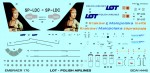 RARE-1-144-Decals-Embraer-170-LOT-Malopolska-des-HAS