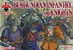1-72-Burgundian-infantry-and-knights-15-century-set-1