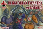 1-72-Burgundian-infantry-and-knights-15-century-set-2