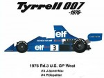 1-12-Tyrrell-007-1976-Rd-3-US-Grand-Prix-West-1976-Conversion-Kit-for-Tamiya-P34