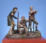 54mm-Minutemen-American-Independence-War-1770-1783