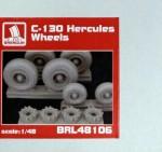 1-48-C-130-wheels-resin-set