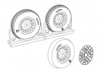 1-48-F4U-Corsair-Block-Thread-Wheels-set