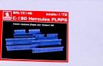 1-72-C-130-Hercules-FLAPS-resin-set-ITAL
