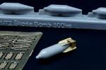 1-72-Skoda-100kg-bomb-interwar-period-4-pcs-
