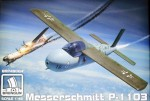 1-48-Me-P-1103-rocket-fighter-plastic-kit