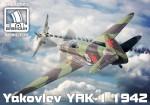 1-72-Yakovlev-Yak-1-mod-1942-plastic-kit