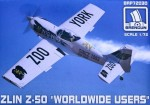 1-72-Zlin-Z-50-Worldwide-Users-plastic-kit