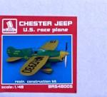 1-48-Chester-Jeep-U-S-race-plane-resin-kit