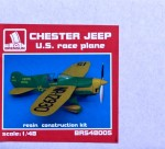 1-48-Chester-Jeep-U-S-race-plane-resin-kit
