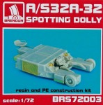 1-72-A-S32A-32-Spotting-dolly-tractor-resin-kit