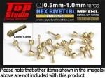 1-0mm-Hex-Rivets-B-Brass