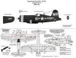 1-32-Vought-F4U-4B-Corsair-VMA-332-Polka-Dots-USS-Bairoko-CVW-115-1953