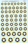 1-72-U-S-National-Insignia-Operation-Torch-with-yellow-outline-6-sizes-30-to-50