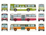 1-150-The-Bus-Collection-Hiroshima-Bus-Center-60th-Anniversary-Set