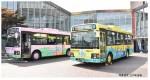 1-150-The-Bus-Collection-Nanbu-Bus-11-Piki-no-Neko-Wrapping-Bus-Set-of-2