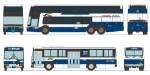 1-150-The-Bus-Collection-Chugoku-JR-Bus-Company-30th-Anniversary-Set-of-2