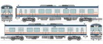 1-150-Train-Collection-Kanto-Railway-Type-KIHA-2100-First-Edition-New-Color-2-Car-Set