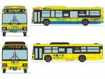 1-150-The-Bus-Collection-Tokachi-Bus-New-and-Old-Color-2-Car-Set
