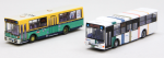 1-150-The-Bus-Collection-Nishi-Nippon-Railroad-New-and-Old-Color-2-Car-Set