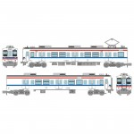 1-150-Train-Collection-JR-Series-105-Improved-Car-30N-Renewed-Design-Ube-Line-and-Onoda-Line-Unit-U10-2-Car-Set
