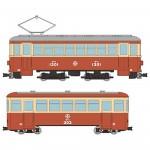 1-80-Train-Collection-Narrow-Gauge-80-Nekoya-Line-Through-Tram-+-Sleeping-Car-Set