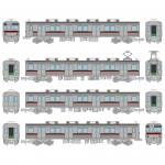 1-150-Train-Collection-Tobu-Railway-Series-9000-Unit-9101-Current-Specification-4-Car-Set