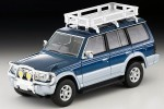 1-64-LV-N206a-Mitsubishi-Pajero-VR-with-Option-Blue-and-Silver