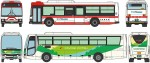 1-150-The-Bus-Collection-Miyagi-Transportation-50th-Anniversary-Set-of-2
