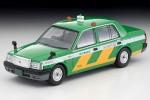 1-64-LV-N218a-Toyota-Crown-Comfort-Tokyo-Musen-Taxi-Green