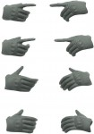 LittleArmory-OP5-figma-Tactical-Gloves-Mas-Grey