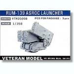 RARE-1-350-Modern-US-RUM-139-ASROC-Launcher-3pcs