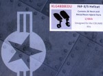 1-48-Landing-Gear-Set-for-F6F-3-5-Hellcats-EDU