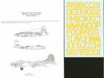1-48-WWII-US-Bomber-codes-40-yellow