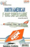 1-48-F-100C-333RD-FDS-North-American-F-100C-333rd-FDs-Decals-for