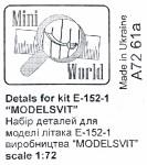 1-72-Pitots-for-E-152-1-Modelsvit