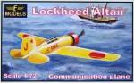 1-72-Lockheed-Altair-Japan-marking-Complete-kit