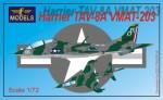 1-72-Harrier-TAV-8A-VMAT-203-Conversion-for-Italeri-Esci