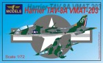 1-72-Harrier-TAV-8A-VMAT-203-Conversion-for-Italeri-Esci