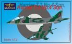 1-72-Harrier-T-2-No-4-sqn-Conversion-for-Italeri-Esci